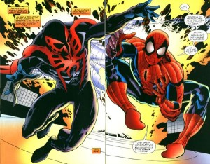 Miguel_O'Hara_(Earth-928)_and_Peter_Parker_(Earth-616)